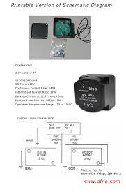 true smart dual battery isolator sbi 12 volt battery isolator dual battery wiring diagram setup