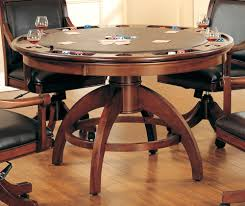 kitchen room pull table: excellent pool table poker table dining table all in one oak dining poker table