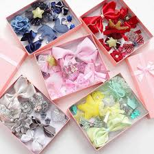 <b>5PCS</b>/<b>set</b> Baby Girls Bow <b>Hairpins</b> Hair Clip for girls Barrettes ...
