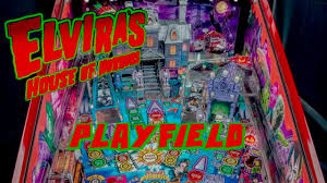 Stern's 'Elvira House of Horrors' Playfield Discussion (may get ...