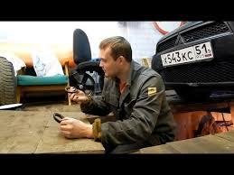 Сидим в гараже. <b>Mitsubishi</b> Lancer X. Ремонт <b>выхлопной системы</b> ...