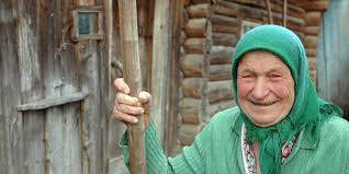 Бабушка- огородница