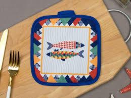 <b>Прихватка Этель Fish</b> 17x17cm 3782850 | www.videozz.ru