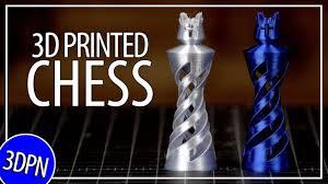 3D <b>Printing</b> a <b>Chess Set</b> and Laser Burning a <b>Chess Board</b> - YouTube