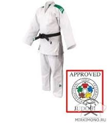 "<b>Кимоно</b> для <b>дзюдо</b> ""<b>Green Hill</b>"" Professional белое IJF-APPROVED ..."