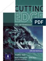 <b>New Cutting Edge Pre-Intermediate</b> Student's Book