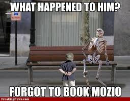 Waiting for Bus Skeleton - WeKnowMemes Generator via Relatably.com