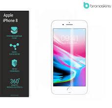 Apple iPhone 8 Защита экрана и <b>задней</b> панели, <b>Защитное</b> ...