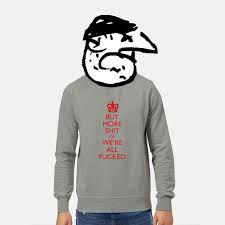 <b>Buy More Shit</b> Sweatshirt | Modern Toss
