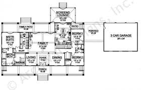 Williamsburg Ii House Plans   Home Plans By Archival DesignsWilliamsburg II House Plan   House plan   Expandable   First Floor Plan