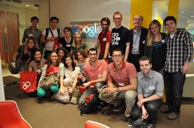 google office tel aviv 24 the students at google with daniel rouach his collegue laureen aude archdaily google tel aviv office