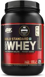 Optimum Nutrition <b>Gold Standard 100</b>% Whey Protein Price in India ...
