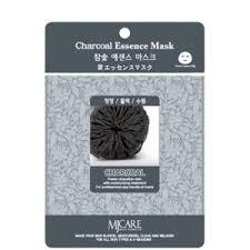 Тканевая <b>маска для</b> лица MJ Care Charcoal <b>Essence Mask</b> ...