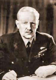 """Sir Arthur Harris Arthur Travers Harris (1892-1984), known as """"Bomber Harris,"""" was appointed Commander-in-Chief of the Royal Air Force Bomber Command ... - harris2"""