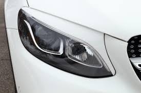 Реснички (<b>накладки) на передние фары</b> Mercedes-Benz GLC coupe