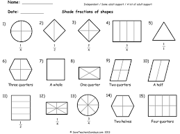 Year 2 Maths Worksheets from Save Teachers Sundays by ...Year 2 Maths worksheets - Shading fractions worksheets (3 levels of difficulty).ppt