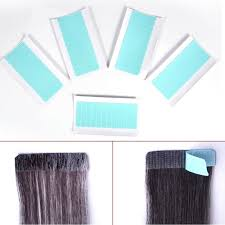 <b>60Pcs</b>/<b>Set</b> Skin Weft Hair Extension <b>Adhesive Double Sided</b> Super ...