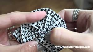How To: Make a Fast and Easy <b>Fabric</b> Flower - YouTube