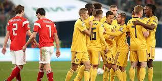 Сборная Бельгии по <b>футболу</b> разгромила россиян в ...