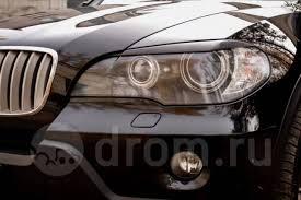 Реснички, <b>накладки на передние фары</b> BMW X5 E70 ...