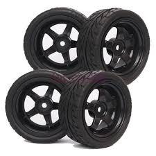 <b>4PCS RC</b> 1/10 On-Road <b>Car</b> Foam Grain Rubber <b>Tyre</b> Tires ...