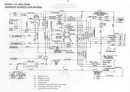 gt 2542 schematic Cub Cadet Ignition Switch Wiring Diagram tractor schematic (medium) jpg (68 7 kb, 2901 views) cub cadet 2182 ignition switch wiring diagram