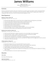 truck driver resume sample com