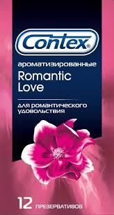Contex <b>презерватив</b> 12 шт <b>romantic love ароматизированный</b>