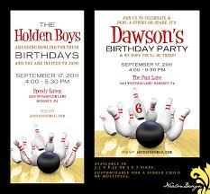 bowling birthday invitations com bowling birthday invitations for a new style birthday by adjusting a very fair invitation templates printable 4