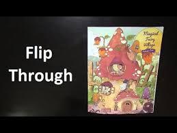 Flip Through | Magical Fairy <b>Village</b> coloring book - YouTube