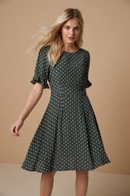 <b>Green</b> Dresses | <b>Green</b> Printed & Lace Dresses | Next Official Site