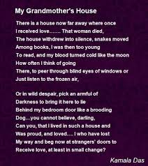 my grandmothers house poem by kamala das   poem hunter