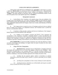 tco v consulting services agreement this consulting tco 361918554v2 1 consulting services agreement this consulting services agreement the agreement is made effective as of 3 2016 the effective