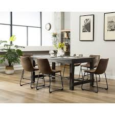 Anton <b>7 Piece Solid</b> Wood Dining Set & Reviews | AllModern