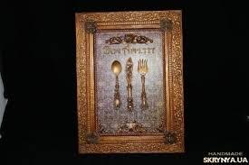 Панно для кухни ′<b>Bon Appetit</b>′ | Antique wall clock, Decor ...