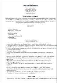 professional entry level mechanic resume templates to showcase  resume templates entry level mechanic resume