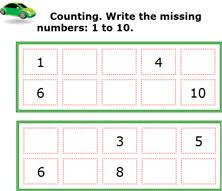 Math counting lessons, free math counting worksheets for prek, k-8 ...Count forward and backward. Counting and coloring, Counting and Matching games. Skip Counting Worksheets
