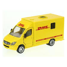 Масштабная модель <b>SIKU</b> 1936 <b>Почтовая машина</b> DHL — купить ...