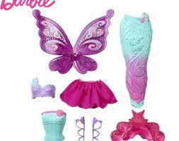 Cheapest <b>Barbie Original Brand Mermaid</b> Dress Up Doll Feature ...