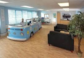 coolest office desk volkswagen van office awesome office desks