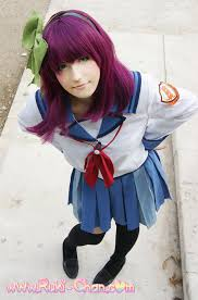 i m the boss yurippe angel beats cosplay by nyanruki on yurippe angel beats