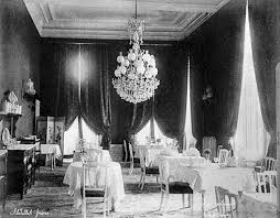 Interior view from the <b>Pera Palace Hotel</b>. - Abdullah Frères ...