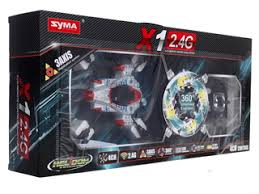 Купить <b>Радиоуправляемый квадрокоптер Syma</b> X1 (Spacecraft) по ...