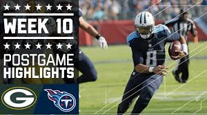 Packers vs. Titans | NFL Week 10 Game Highlights - YouTube