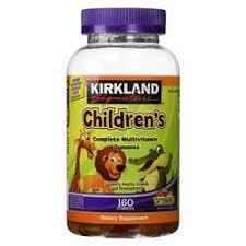 Kirkland Signature Children's <b>Complete Multivitamin Gummies</b> ...