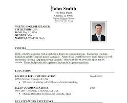 standard resume outline standard format of resume for engineering standard resume format template
