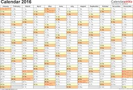 calendar 2016 uk 16 printable word templates template 2 yearly calendar 2016 as word template landscape orientation a4 1