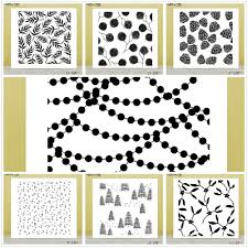 Same Leaves Background Design Clear Silicone Stamp/Seal for ...