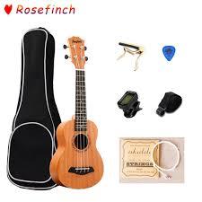 Rosefinch <b>21 inch Ukulele</b> for Beginners Hawaii <b>Guitar Ukulele</b> with ...
