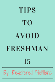 tips to avoid freshman food pleasure and health resolution